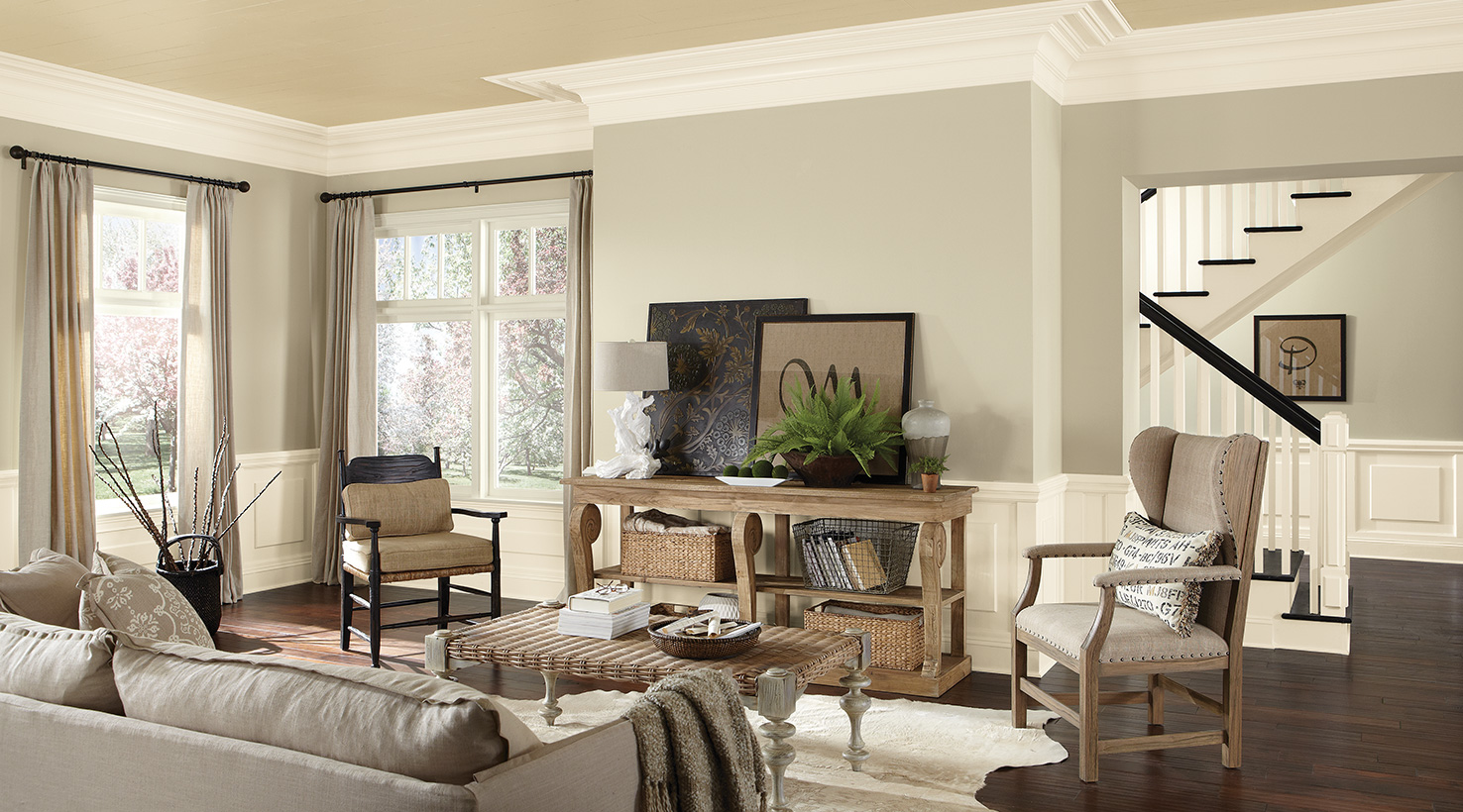 Light up Your Life With These Living Room Color Ideas